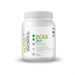 Nutri Works BCAA 211 Green Apple 500 g